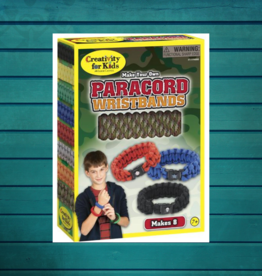 CREATIVITY FOR KIDS PARACORD WRISTBANDS