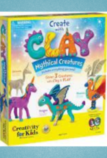 CREATIVITY FOR KIDS CREATE CLAY MYTHICAL CREATURES