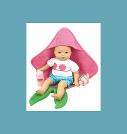 MADAME ALEXANDER Splash and Play Mermaid (includes hooded towel, squirt fish toy and bottle) 12
