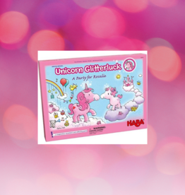 HABA UNICORN GLITTERLUCK A PARTY FOR ROSALIE