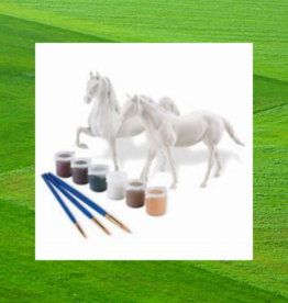 PAINT YOUR OWN HORSE QUARTER HORSE & SADDLEBRED