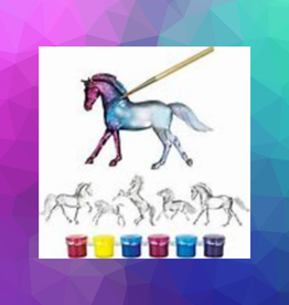 SUNCATCHER HORSES PAINT & PLAY