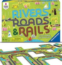 RAVENSBURGER RIVERS, ROADS, & RAIL