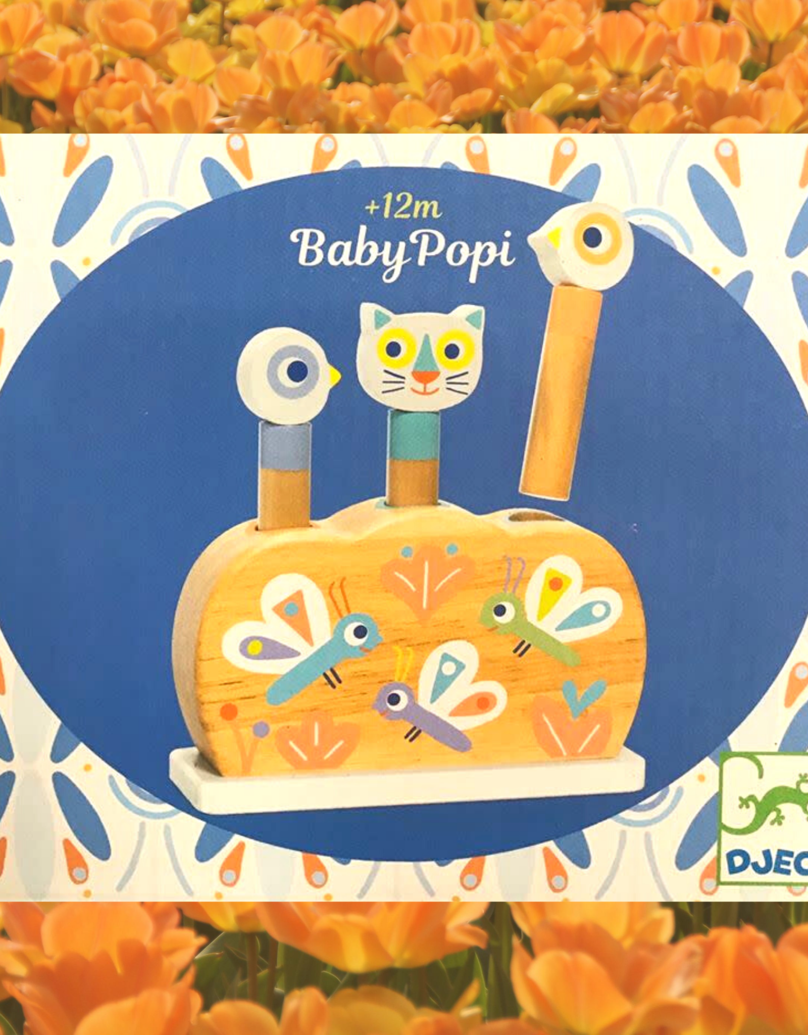 DJECO BABY POPI POP-UP***