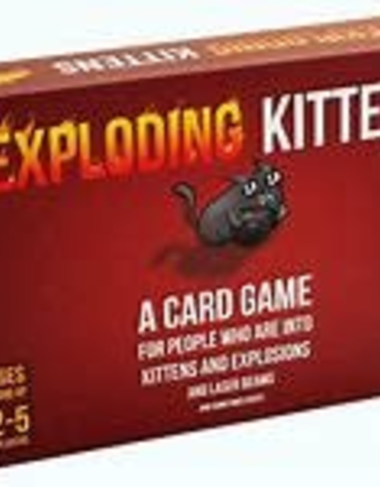 ACD TOYS GAMES EXPLODING KITTENS CARD GAME