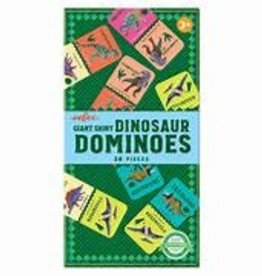 EEBOO GIANT SHINY DINOSAUR DOMINOES 28 PC