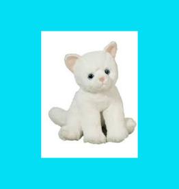 "DOUGLAS CUDDLE TOY WINNIE WHITE CAT SOFTIE 11"""