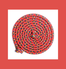 JUST JUMP IT CONFETTI 16' JUMP ROPE  RED