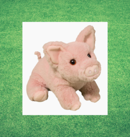 "DOUGLAS CUDDLE TOY PINKIE  PIG SOFTIE 11"""