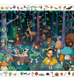 DJECO ENCHANTED FOREST PUZZLE OBSERVATION & POSTER