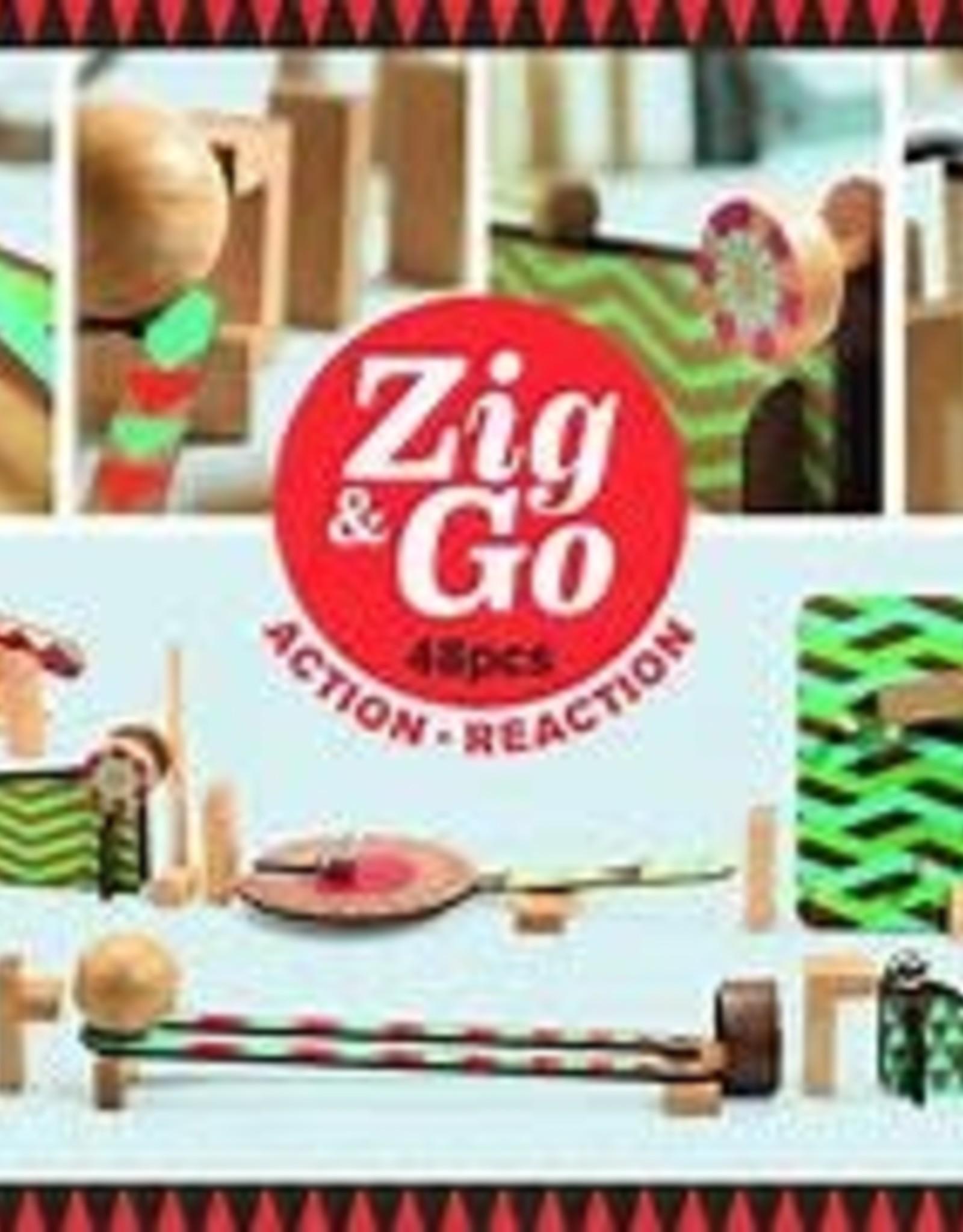 DJECO ZIG AND GO 48 PCS