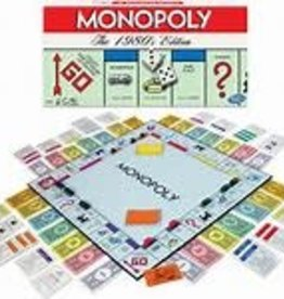 WINNING MOVES Monopoly  The 1980's Edition