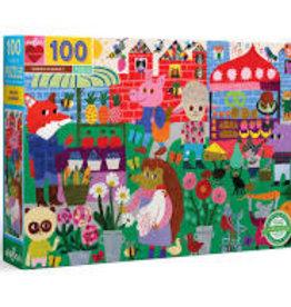 EEBOO GREEN MARKET PUZZLES 100 PC