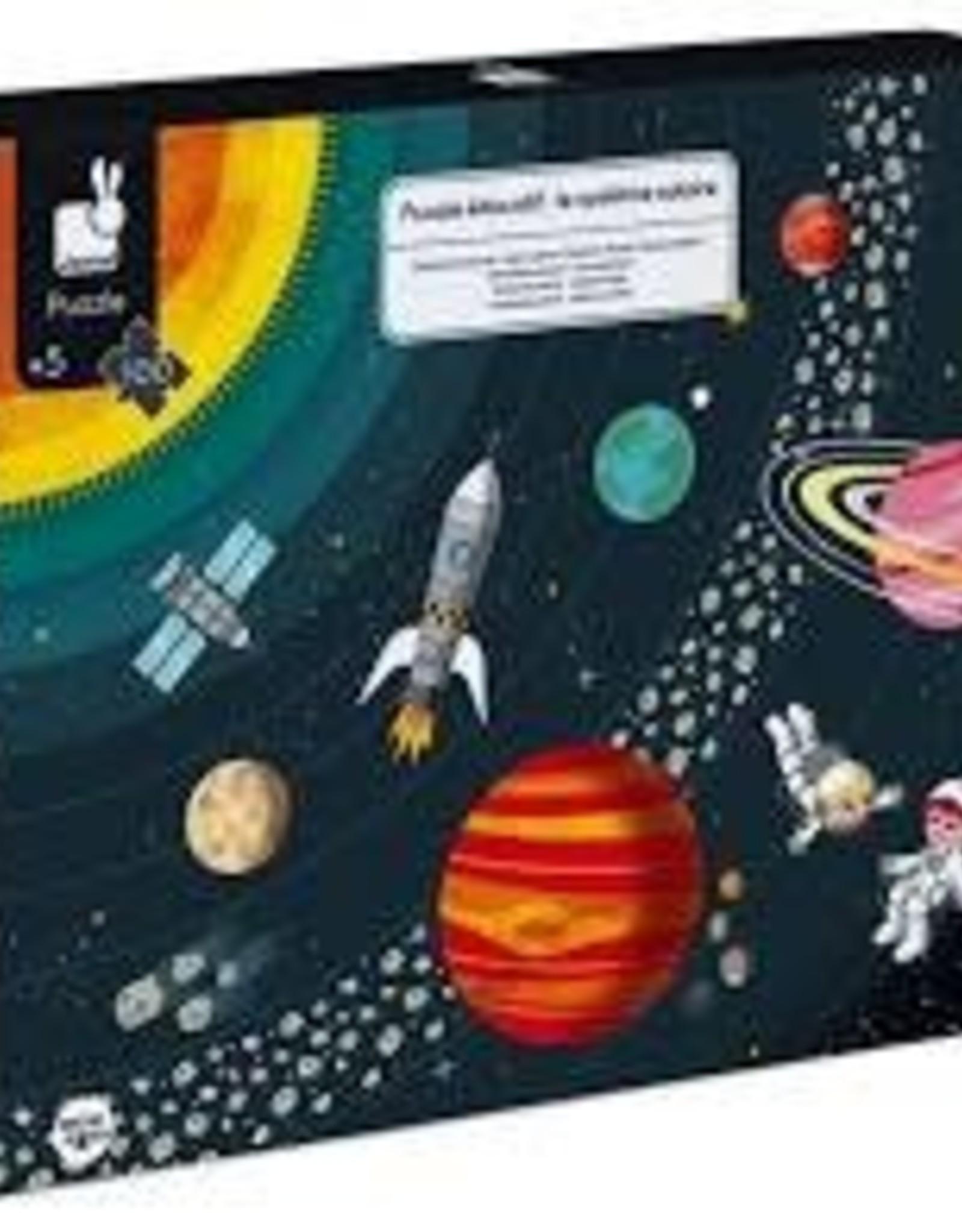 JANOD JURATOYS SOLAR SYSTEM EDUCATIONAL LEAFLET PUZZLE