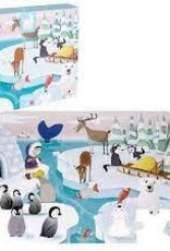 "JANOD JURATOYS TACTILE PUZZLE ""LIFE ON THE ICE"" - 20 PCS"