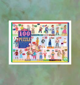 EEBOO CHILDREN OF THE WORLD PUZZLE 100 PC