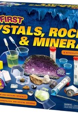 KIDS FIRST THAMES AND KOSMOS CRYSTALS, ROCKS, & MINERALS