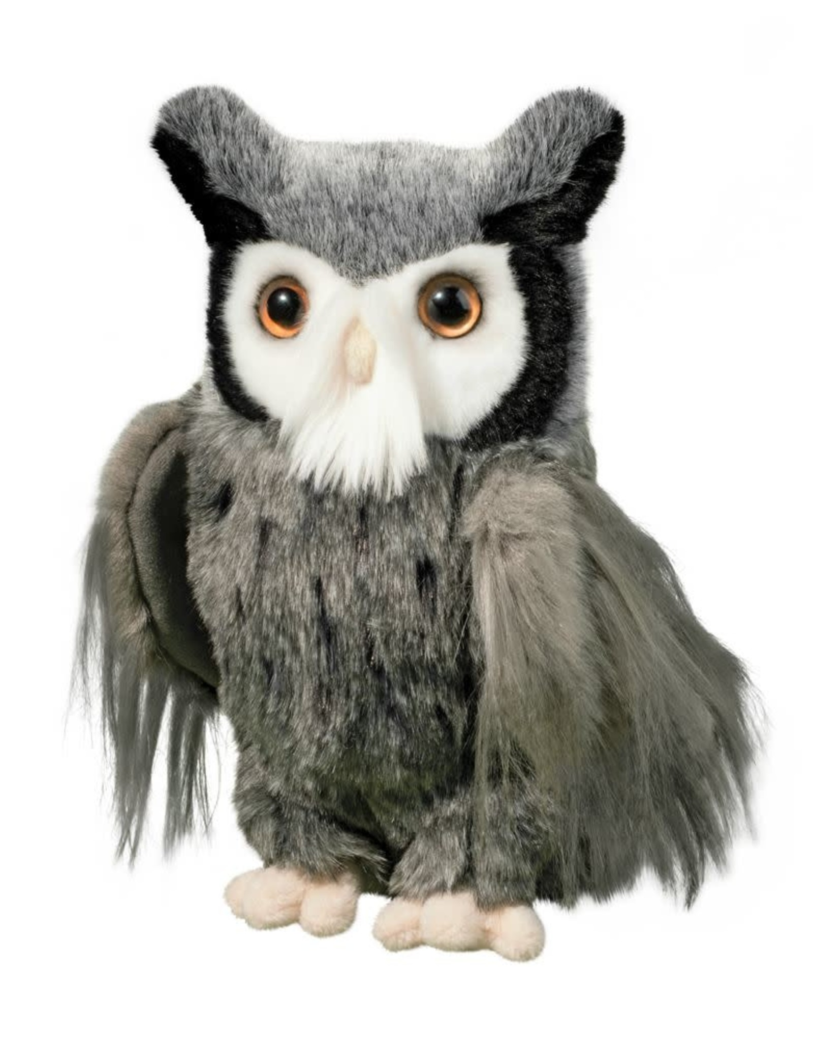DOUGLAS CUDDLE TOY SAMUAL GREAT GREY HORNED OWL