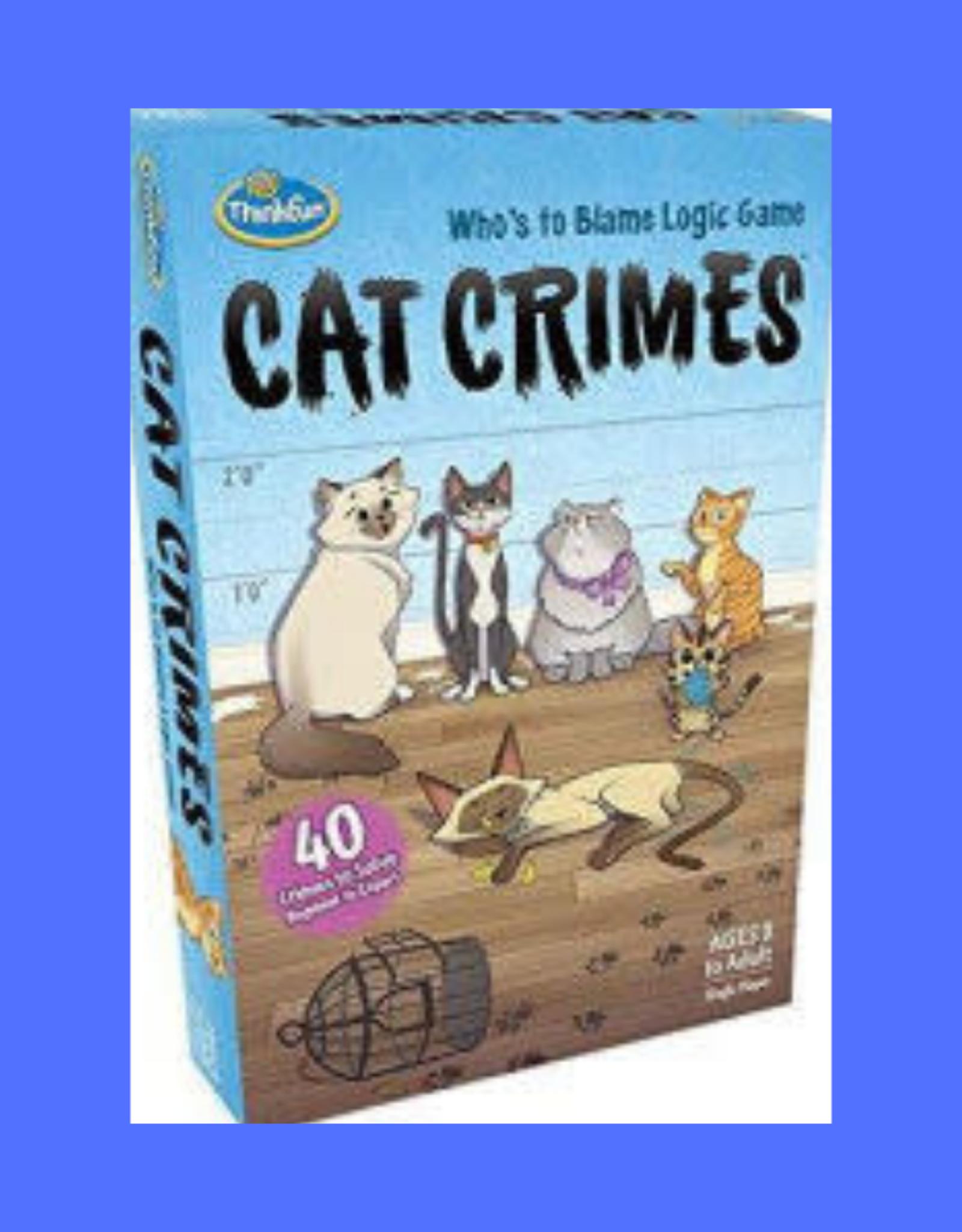 THINK FUN RAVENSBURGER CAT CRIMES