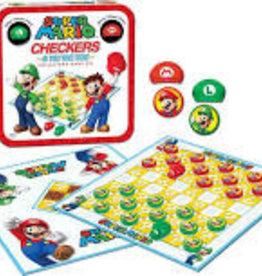Super Mario™ Checkers & Tic Tac Toe Collector's Game Set