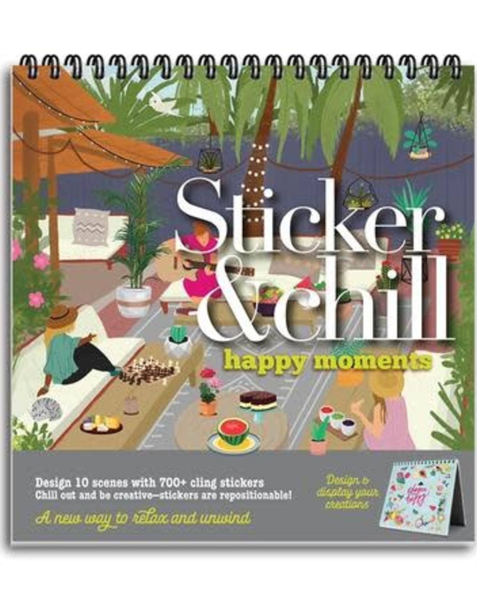 ANN WILLIAMS STICKER & CHILL HAPPY MOMENTS