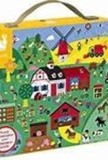JANOD JURATOYS FARM 24 PC OBSERVATION PUZZLE