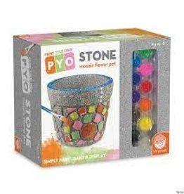 MINDWARE Pyo: Stone: Flower Pot