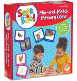 MINDWARE Seek A Boo!:  Mix-And-Match Memory Game