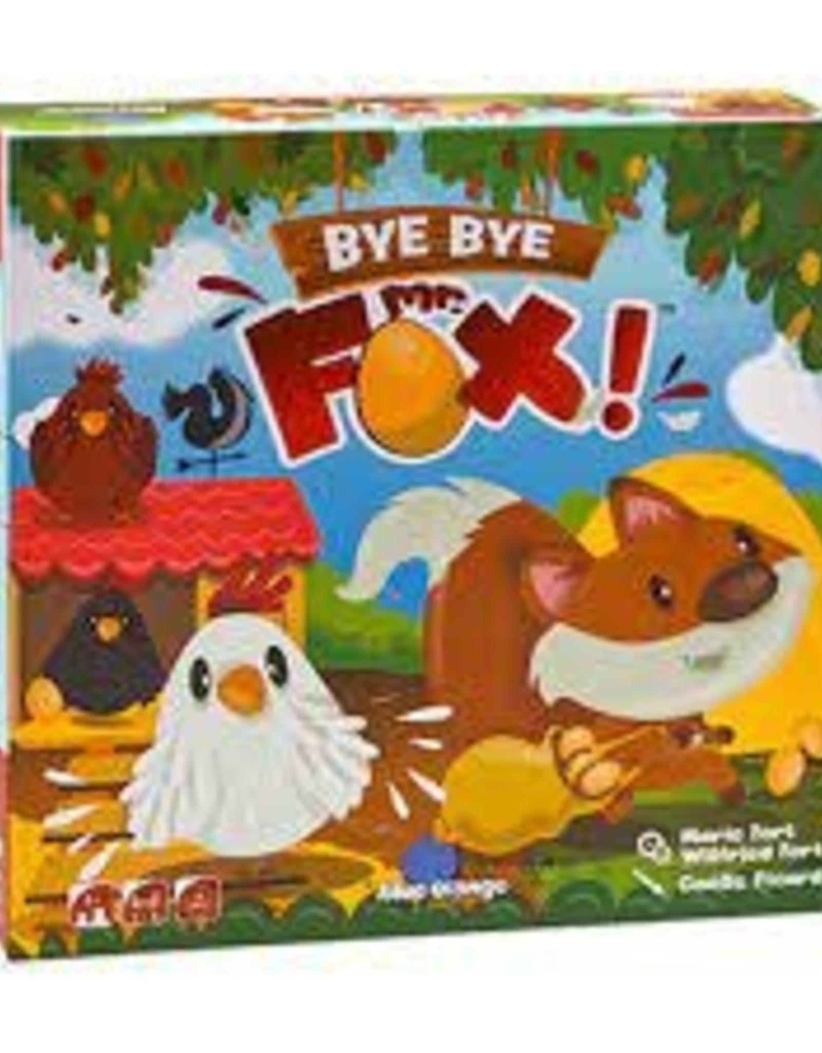 BLUE ORANGE BYE BYE MR FOX