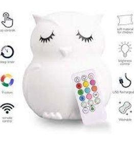 LUMIEWORLD LumiPets® Night Lamp Companion - Owl
