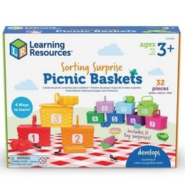 Learning Resources SORTING SURPRISE PICNIC BASKETS