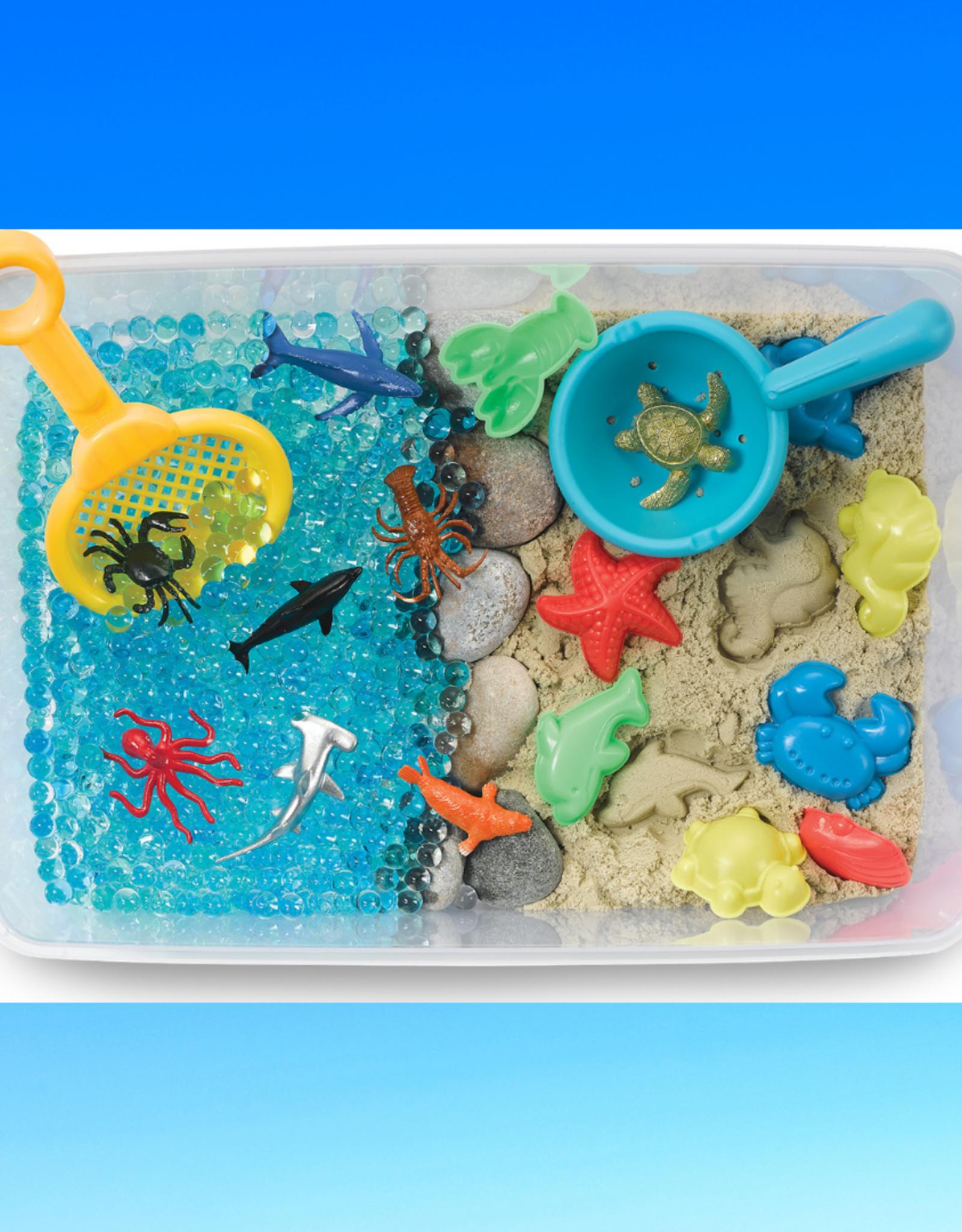 CREATIVITY FOR KIDS OCEAN AND SAND SENSORY BIN