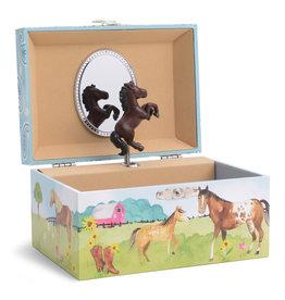 JEWELKEEPER HORSE Musical Jewelry Box