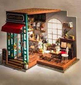 HANDS CRAFT Simon's Coffee Shop DIY Miniature House: