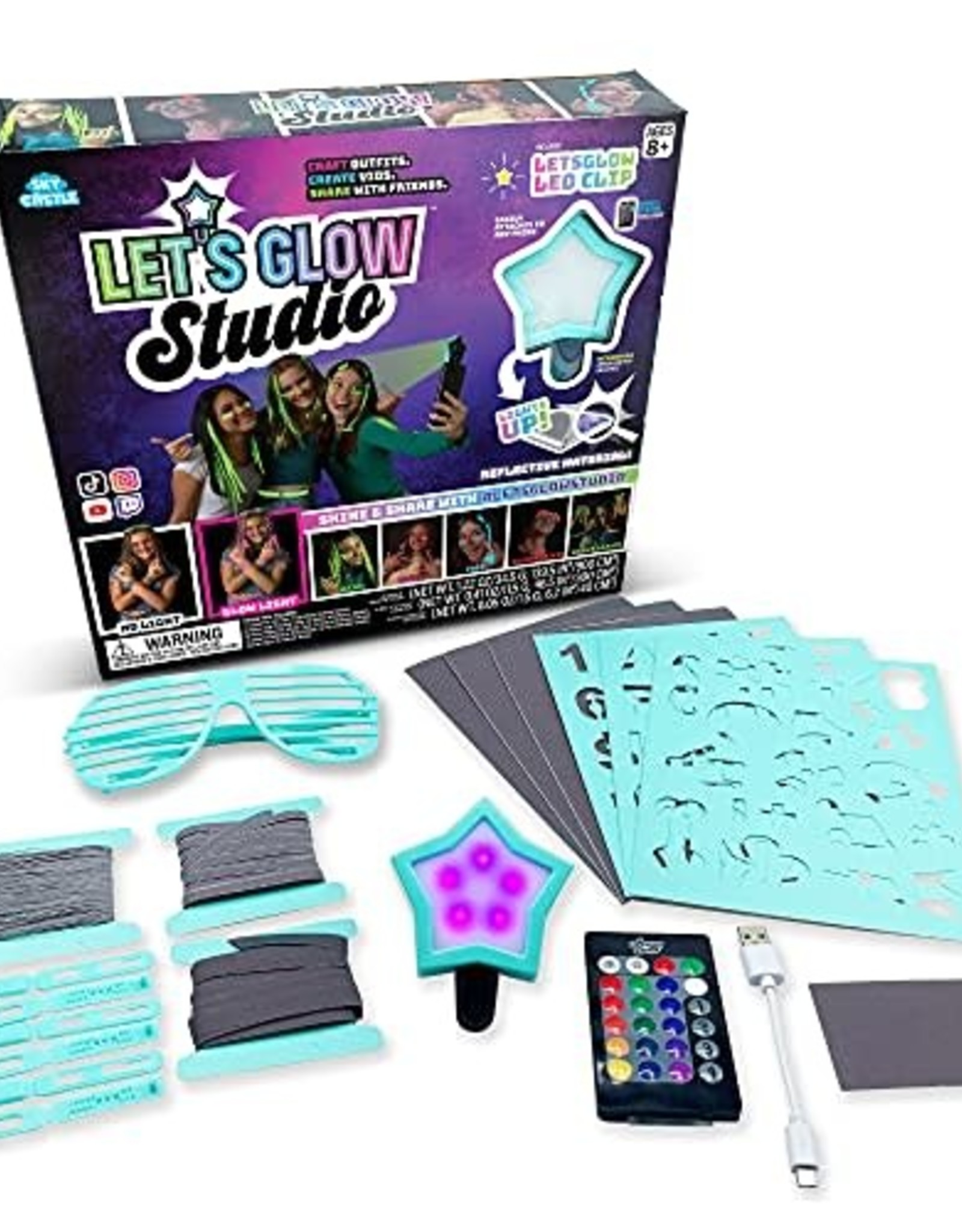 LICENSE 2 PLAY TOYS LETS GLOW STUDIO