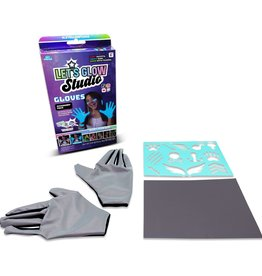 LICENSE 2 PLAY TOYS LETS GLOW STUDIO GLOVES
