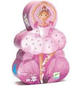 DJECO Ballerina with The Flower 36pc Jigsaw Puzzle