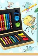 DJECO Box of Art Supplies for Toddlers