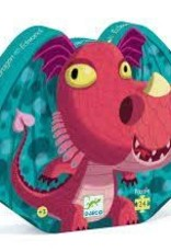 DJECO Edmond the Dragon 24pc Jigsaw Puzzle