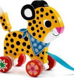 DJECO Greta Wooden Pull Toy