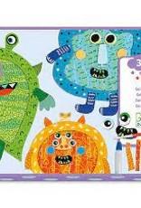 DJECO Happy Monsters Collage Craft Kit