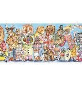 DJECO King's Party 100pc Gallery Jigsaw Puzzle + Poster