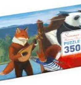 DJECO summer lake gallery puzzle 350 pcs