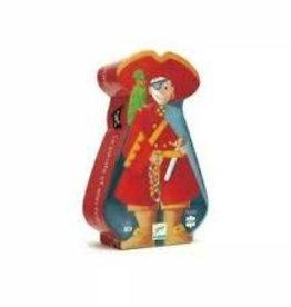 DJECO The Pirate & His Treasure 36pc Jigsaw Puzzle