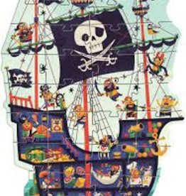 DJECO The Pirate Ship 36pc Giant Floor Jigsaw Puzzle