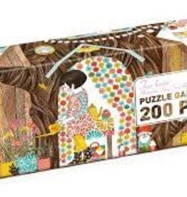 DJECO Treehouse 100pc Gallery Jigsaw Puzzle + Poster