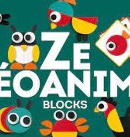 DJECO Ze Geoanimo Wooden Block Tanagram Set