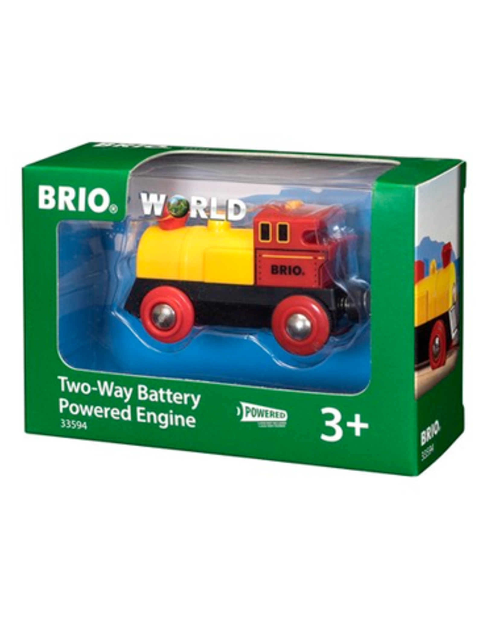 BRIO RAVENSBURGER Two Way Battery Powered Engine