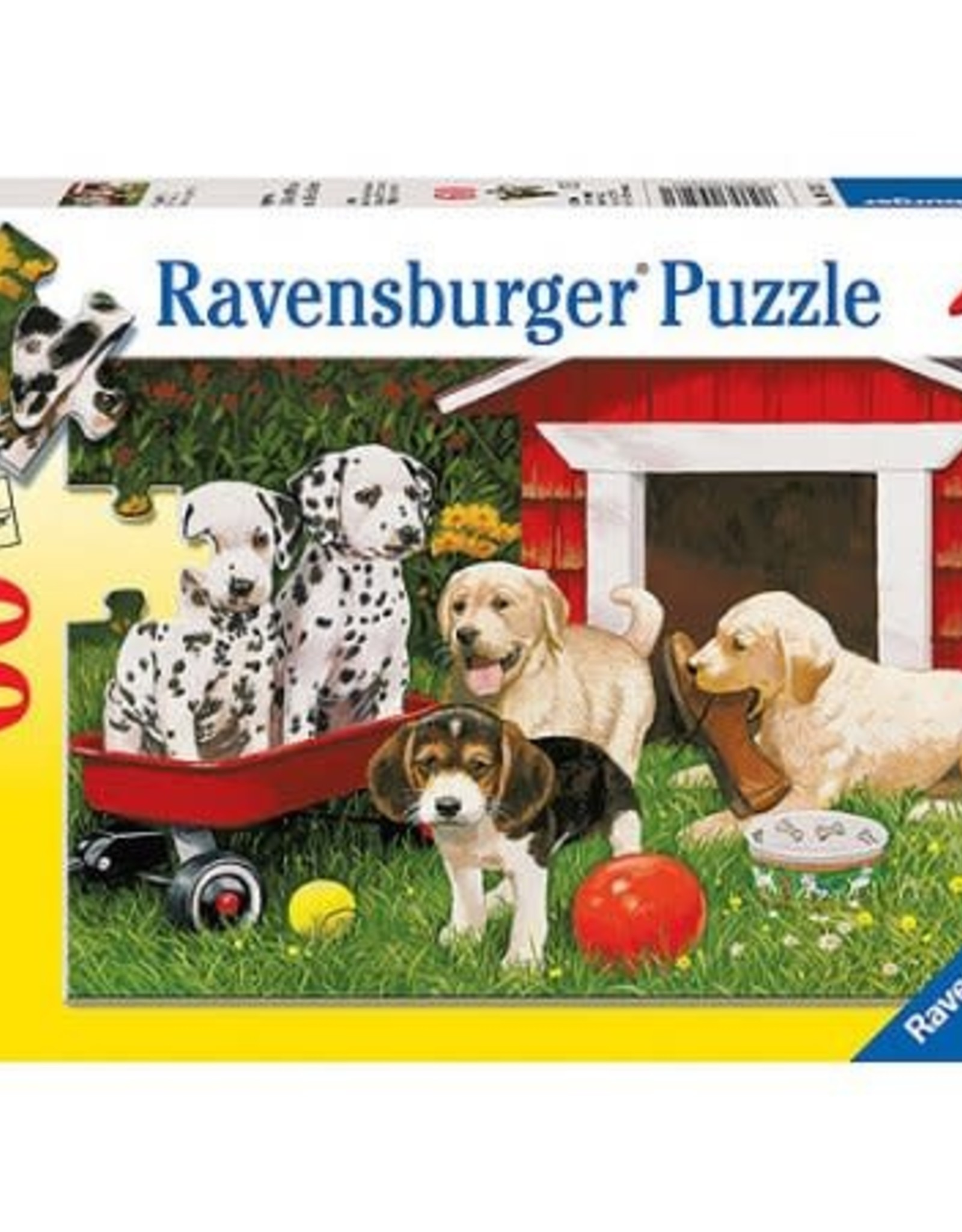 RAVENSBURGER Puppy Party (60pc)