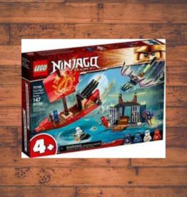 LEGO NINJAGO  FINAL FIGHT OF DESTINY'S BOUNTY